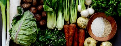 自然栽培の米・野菜